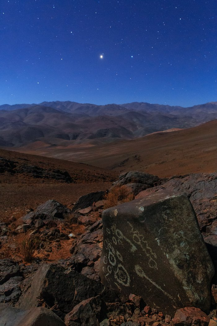 Dusk over the Atacama