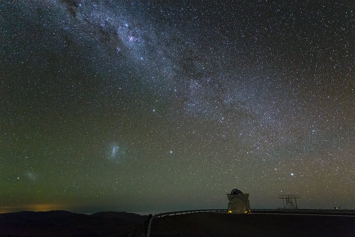 Glistening Band of the Milky Way over Paranal