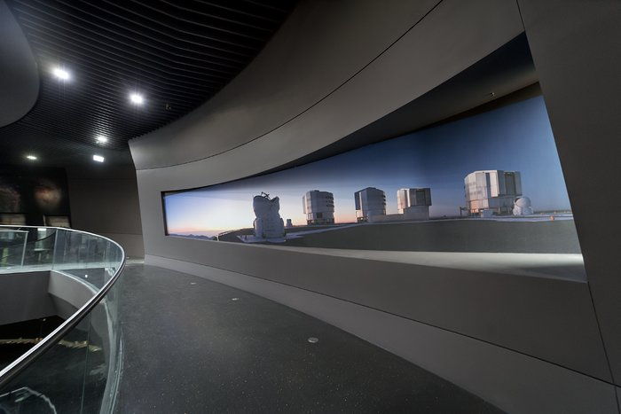 A sneak-peek into ESO's new Supernova Planetarium and Visitor Centre
