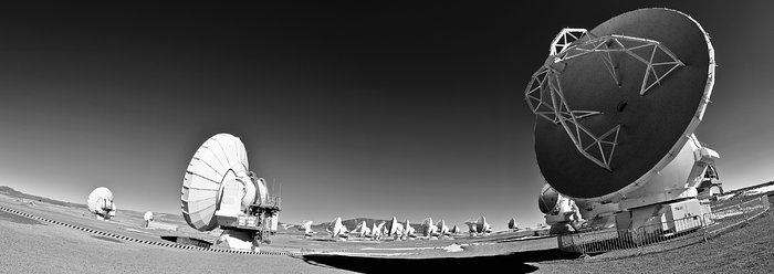 Antennae at the Array Operations Site