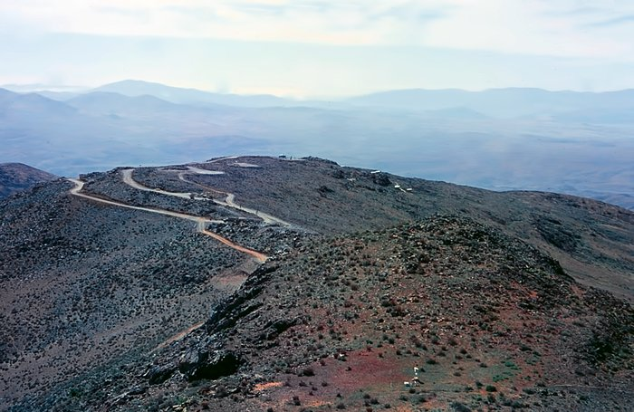 La Silla before the observatories were built
