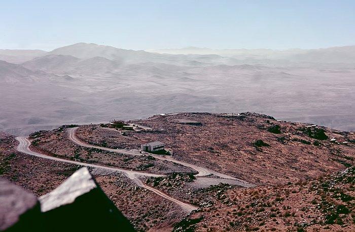Early La Silla site