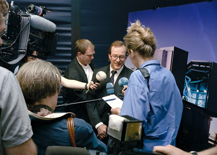 VLT first light press conference