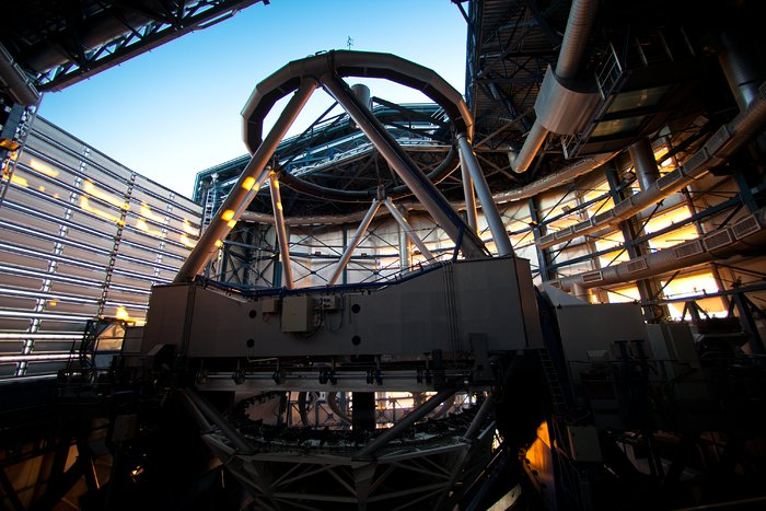 Sunlight enters a VLT Dome