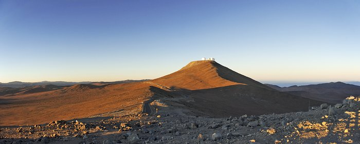 Sunrise at Paranal