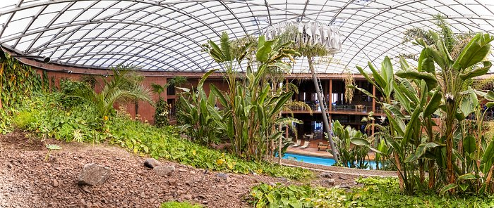 The dome of the Paranal Residencia