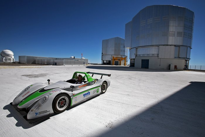 Electric supercar on the VLT platform