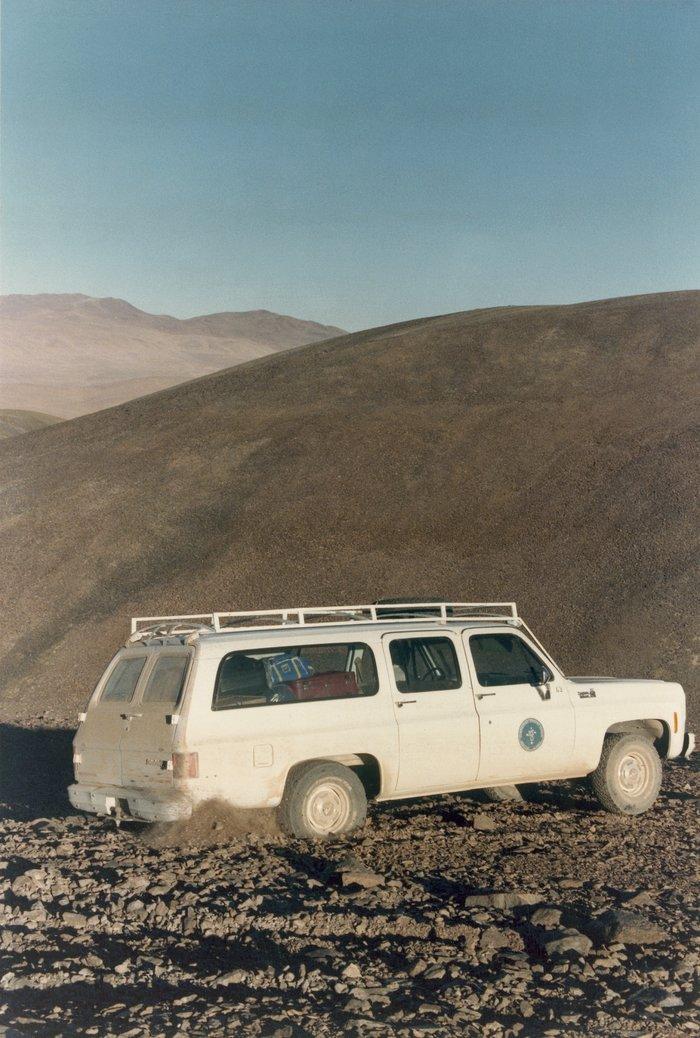 VLT site test Cerro Paranal