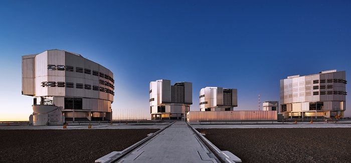 A strong showing at Paranal