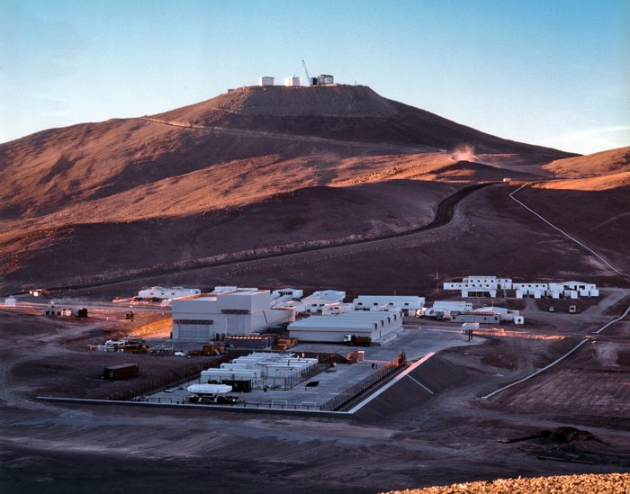 The Paranal Basecamp (1997)