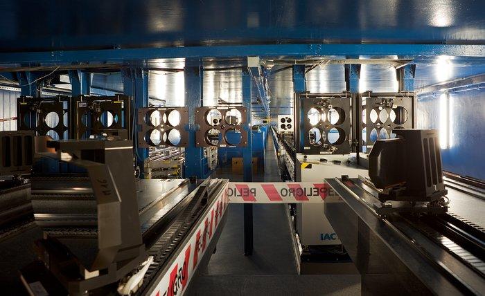 VLTI tunnel