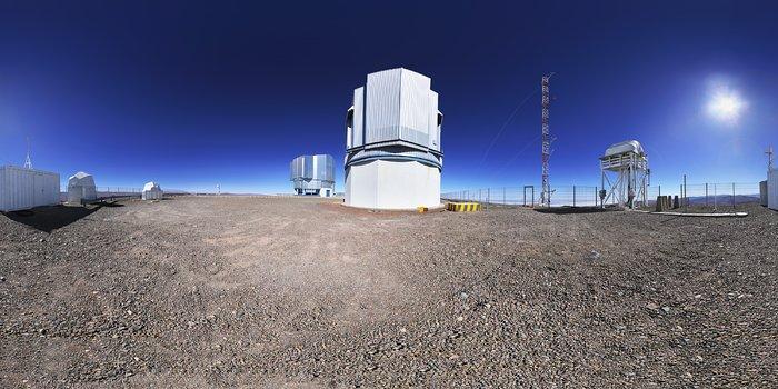 The VLT Survey Telescope atop Paranal