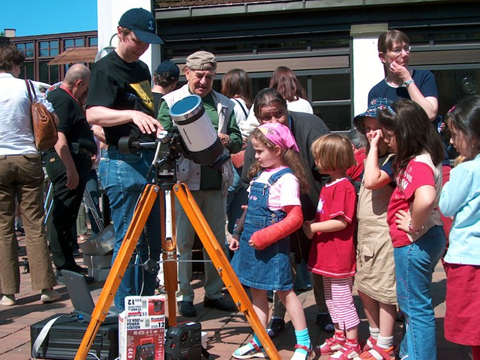 Children Marvel at the Transit of Venus