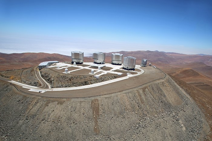 Shot of the VLT from above