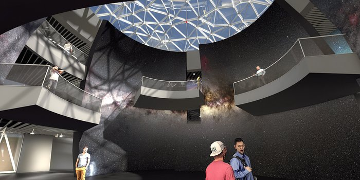 Illustration of the ESO Supernova interior