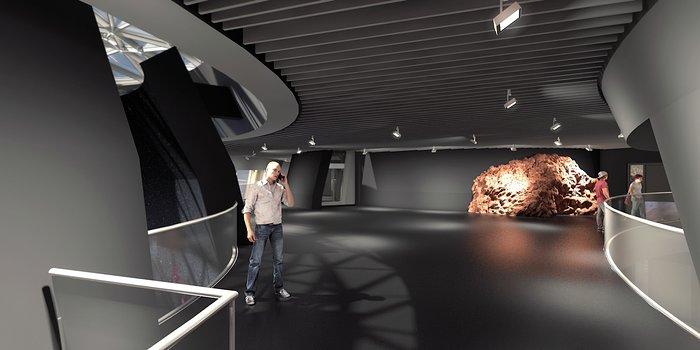 Illustration of ESO Supernova interior