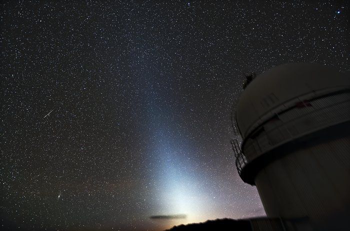 Zodiacal light at La SIlla