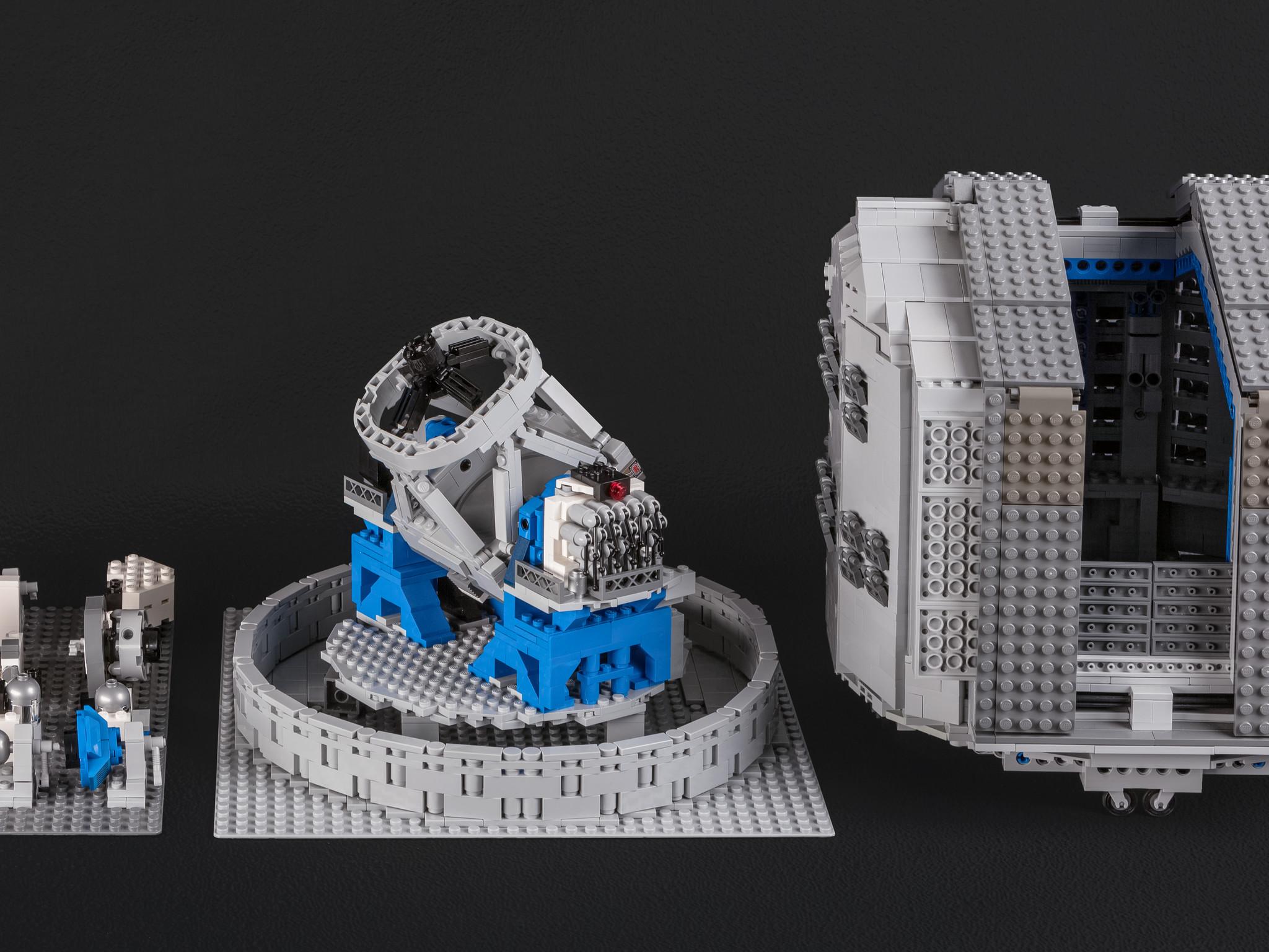 the lego® vlt model in its entirety | eso