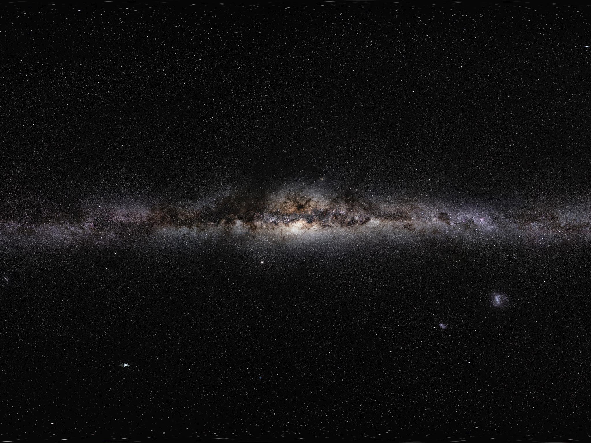 The Milky Way Panorama Eso