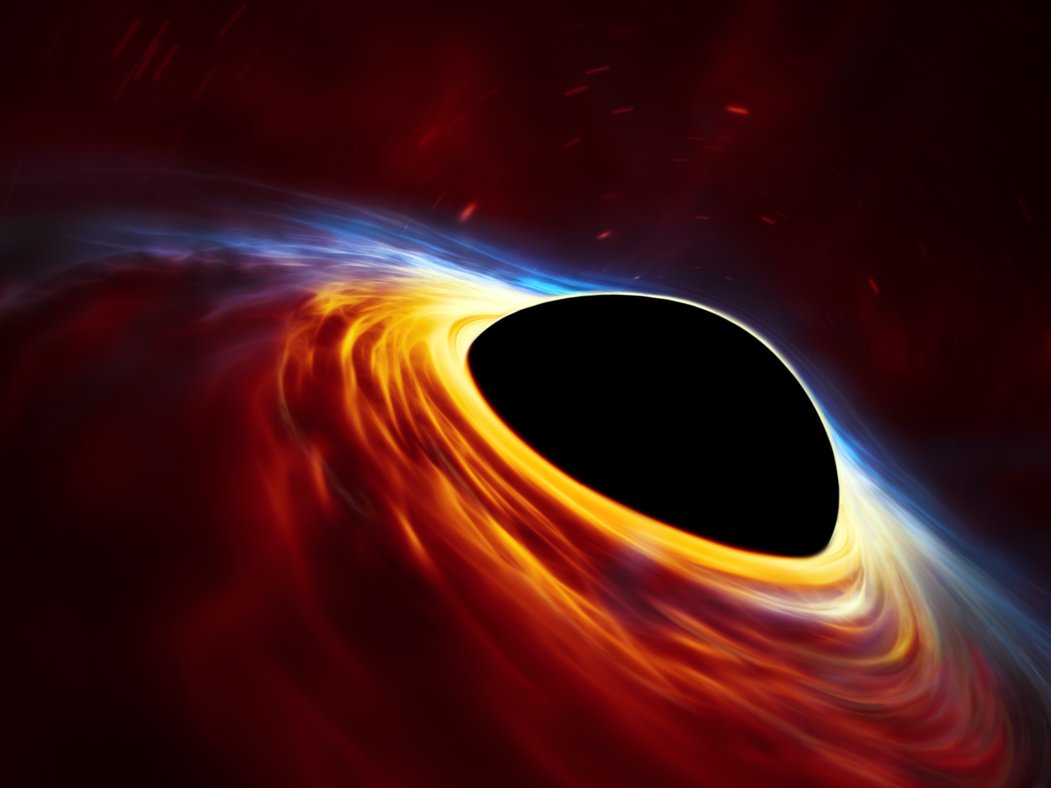 earth going into a black hole - HD 2048×1450
