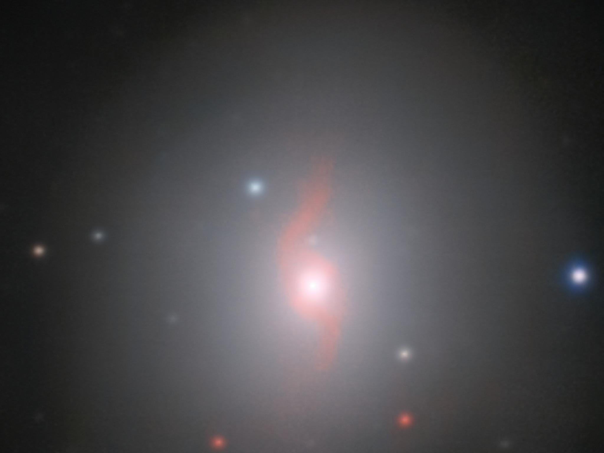 vltmuse image of the galaxy ngc and associated kilonova