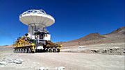 Eine entfernte ALMA-Antenne