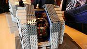 Estrelas guia laser em LEGO®
