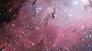 Paneo sobre la Nebulosa del Aguila