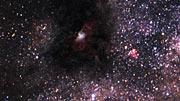 La Nebulosa del Aguila vista por el VLT, WFI y Hubble