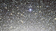Panning across the VST image of the globular cluster Omega Centauri