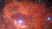Vue panoramique de la région de formation d'étoiles Gum 41