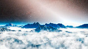 Představa jasného zodiakálního světla v extrasolárním planetárním systému