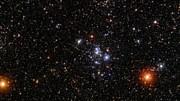 Zoom auf den Sternhaufen Messier 47