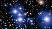 Nahansichten des hellen Sternhaufens Messier 47
