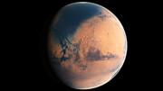 Concepção artística de Marte há quatro bilhões de anos atrás