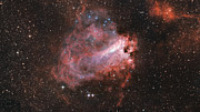 Zooming in on the star formation region Messier 17