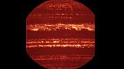 Image de Jupiter acquise par l'instrument VISIR sur le VLT
