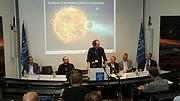 Conferenza stampa al Quartier Generale dell'ESO