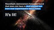 """ESOcast 101 """"in pillole"""": Stelle dalle tempeste del buco nero"""