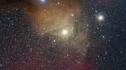 Zoom sulla supergigante rossa Antares