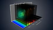 Pohled na mlhovinu Saturn ve 3D