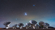 Europese infrastructuren van de Event Horizon Telescope