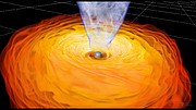 Black Hole Magnetohydrodynamic Simulation