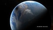 Het pad van de totale zonsverduistering van 2019