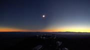 Zeitraffer der totalen Sonnenfinsternis 2019 am Observatorium La Silla