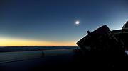 Time lapse af solformørkelsen fra REM