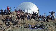 Deltagere ved solformørkelsen på La Silla