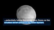 ESOcast 211 Light: Телескоп ESO нашел, возможно, самую маленькую карликовую планету в Солнечной системе