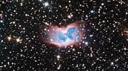 Zoom inn på den planetariske tåken NGC 2899