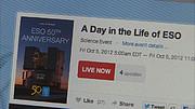 """ESOcast 49: En el aire – Emisión en directo de """"Un día en la vida de ESO"""": entre bambalinas"""